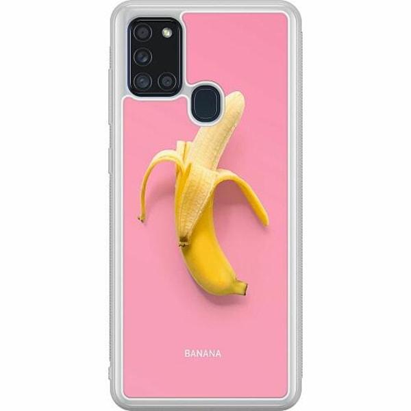 Samsung Galaxy A21s Soft Case (Frostad) Banana