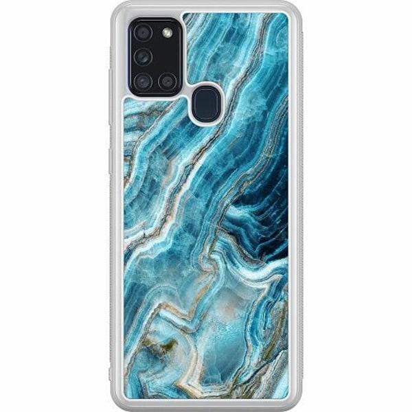 Samsung Galaxy A21s Soft Case (Frostad) Diamantis