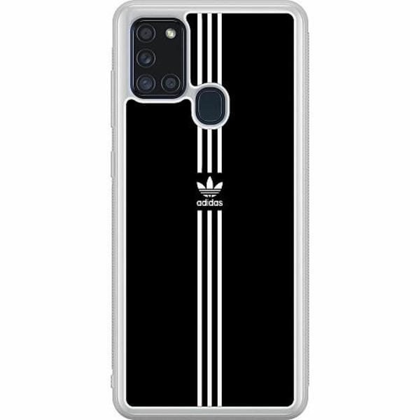 Samsung Galaxy A21s Soft Case (Frostad) Fashion