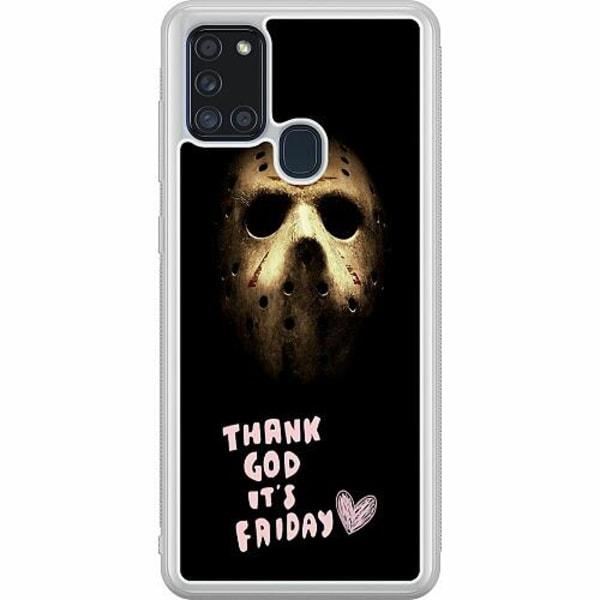 Samsung Galaxy A21s Soft Case (Frostad) Friday