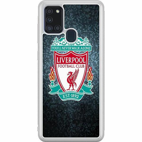 Samsung Galaxy A21s Soft Case (Frostad) Liverpool Football Club