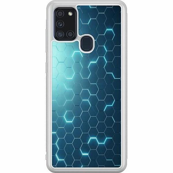 Samsung Galaxy A21s Soft Case (Frostad) Mönster
