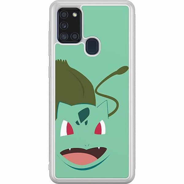 Samsung Galaxy A21s Soft Case (Frostad) Pokémon - Bulbasaur