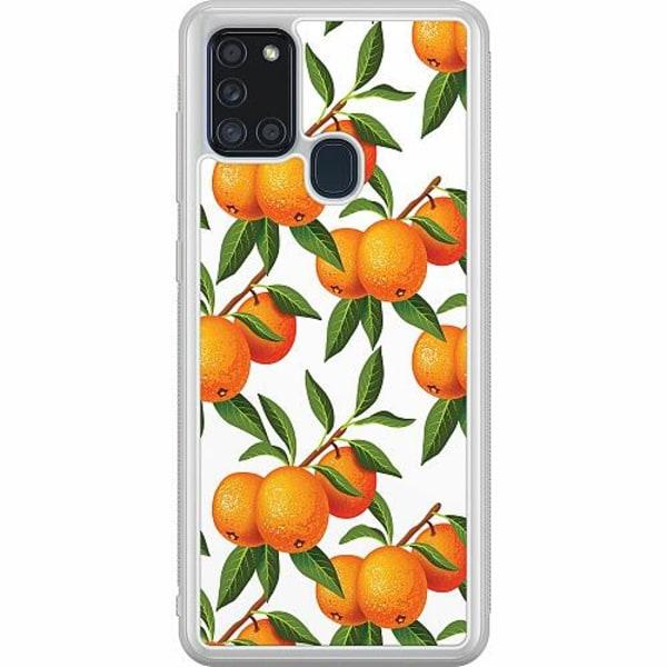 Samsung Galaxy A21s Soft Case (Frostad) Tangerine Tenderness
