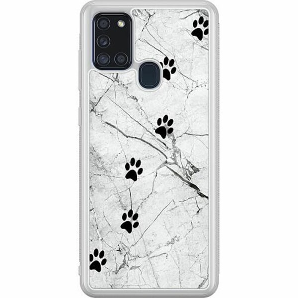 Samsung Galaxy A21s Soft Case (Frostad) Tassar