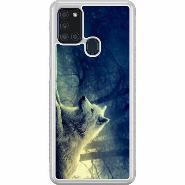 Samsung Galaxy A21s Soft Case (Frostad) Varg