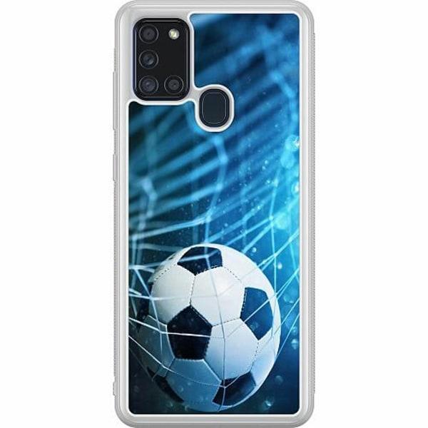 Samsung Galaxy A21s Soft Case (Frostad) VM Fotboll 2018