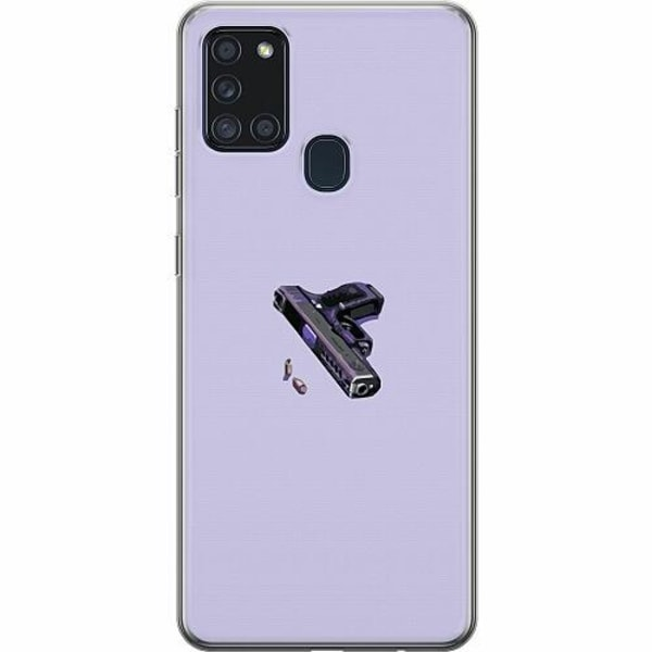 Samsung Galaxy A21s TPU Mobilskal Gun