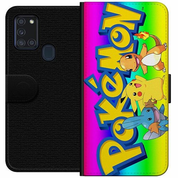 Samsung Galaxy A21s Wallet Case Pokemon