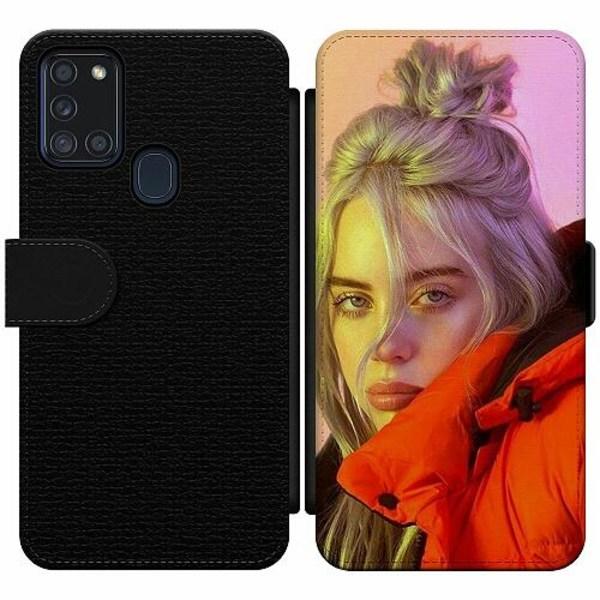 Samsung Galaxy A21s Wallet Slim Case Billie Eilish 2021