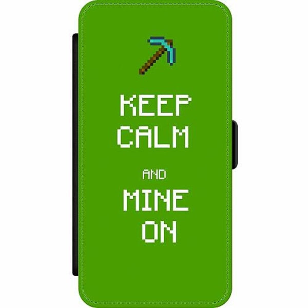 Samsung Galaxy S9+ Wallet Slim Case MineCraft Rainbow