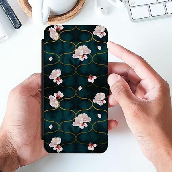 Samsung Galaxy A32 5G Slimmat Fodral Blommor