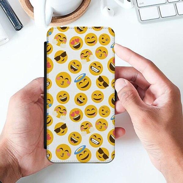 Samsung Galaxy A32 5G Slimmat Fodral Emoji Mania