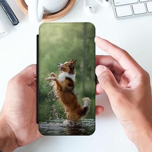 Samsung Galaxy A32 5G Slimmat Fodral Happy Dog