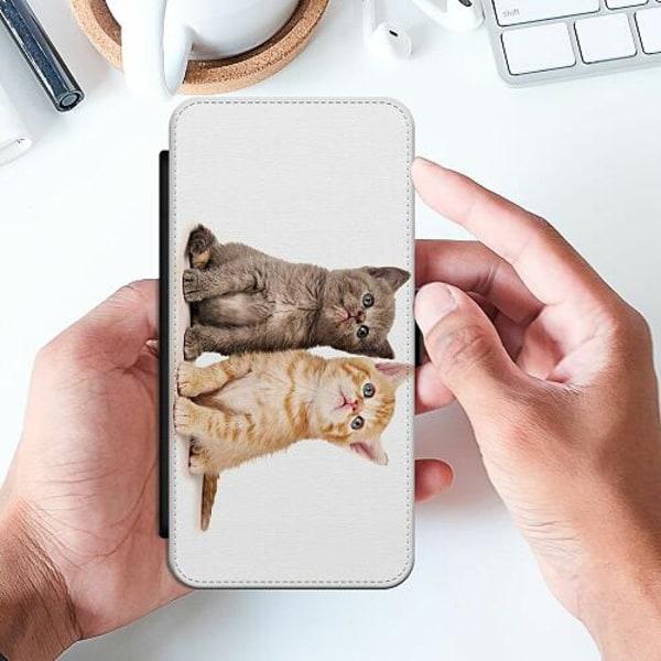 Samsung Galaxy A32 5G Slimmat Fodral Katter