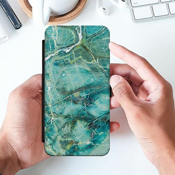 Samsung Galaxy A32 5G Slimmat Fodral Light Emerald