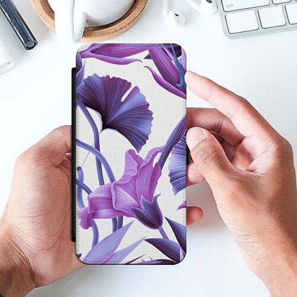 Samsung Galaxy A32 5G Slimmat Fodral Lilac Bloom