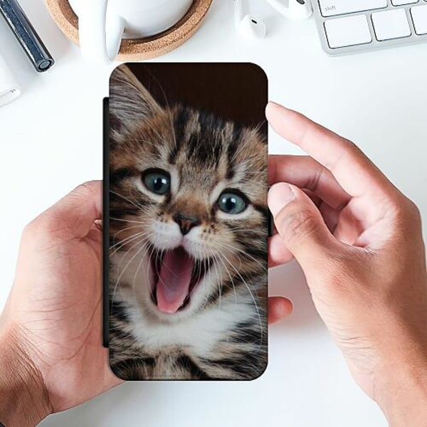 Samsung Galaxy A32 5G Slimmat Fodral Surprised Kitten