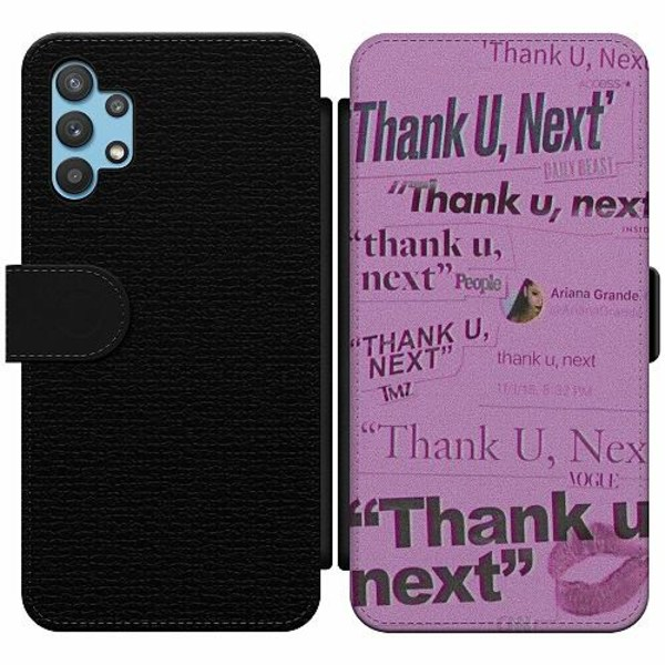 Samsung Galaxy A32 5G Wallet Slim Case Ariana Grande