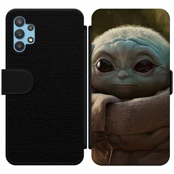 Samsung Galaxy A32 5G Wallet Slim Case Baby Yoda