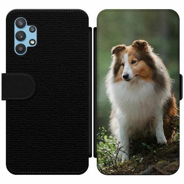 Samsung Galaxy A32 5G Wallet Slim Case Hund