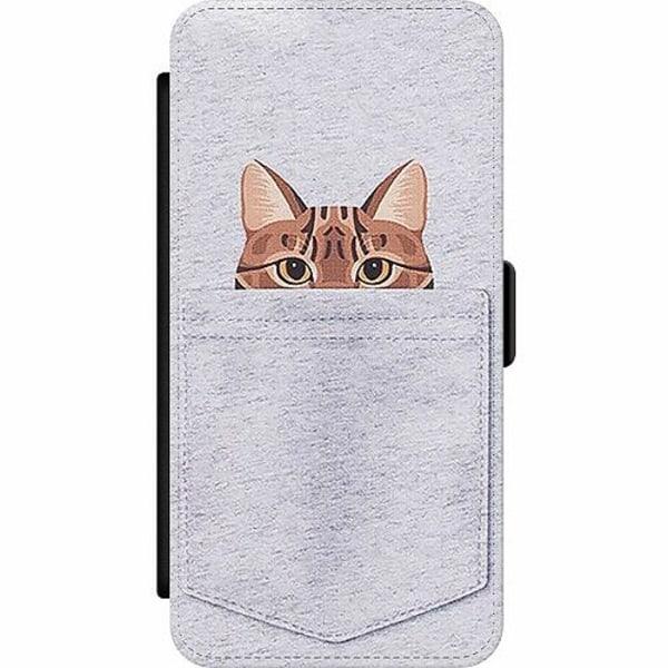 Samsung Galaxy A32 5G Wallet Slim Case Katt