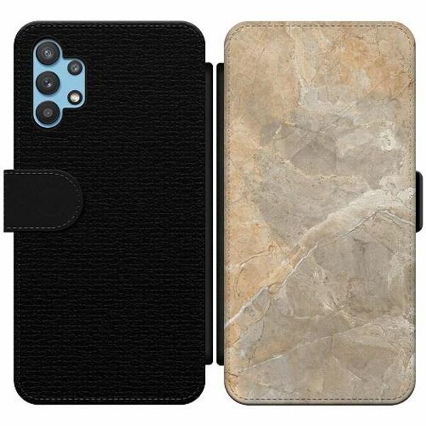 Samsung Galaxy A32 5G Wallet Slim Case Marmor