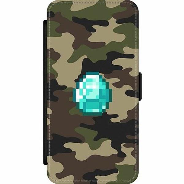 Samsung Galaxy A32 5G Wallet Slim Case Minecraft