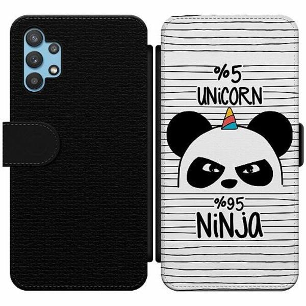 Samsung Galaxy A32 5G Wallet Slim Case Panda