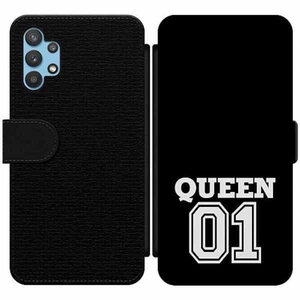 Samsung Galaxy A32 5G Wallet Slim Case Queen 01