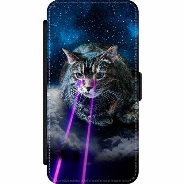 Samsung Galaxy A32 5G Wallet Slim Case Space Cat