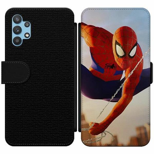 Samsung Galaxy A32 5G Wallet Slim Case Spiderman