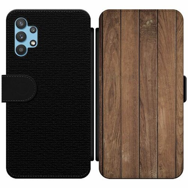 Samsung Galaxy A32 5G Wallet Slim Case Timber
