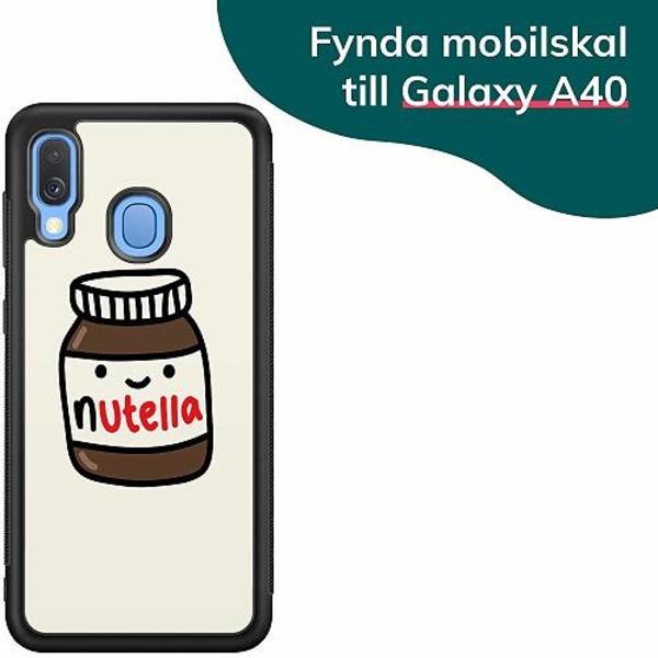 Samsung Galaxy A40 Billigt mobilskal - Nutella