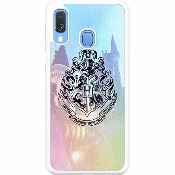 Samsung Galaxy A40 Hard Case (White) Harry Potter