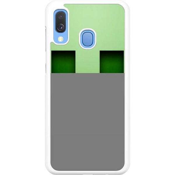 Samsung Galaxy A40 Hard Case (Vit) Mönster