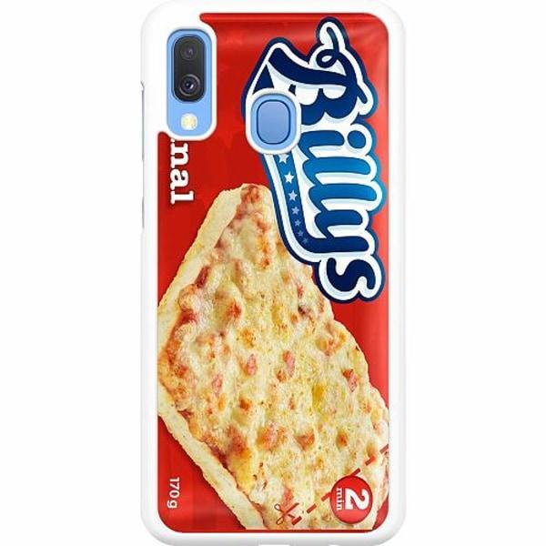 Samsung Galaxy A40 Hard Case (White) Pizza
