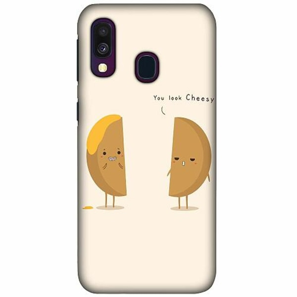 Samsung Galaxy A40 LUX Mobilskal (Matt) Cheesy