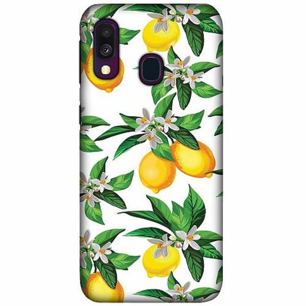 Samsung Galaxy A40 LUX Mobilskal (Matt) Lemonical