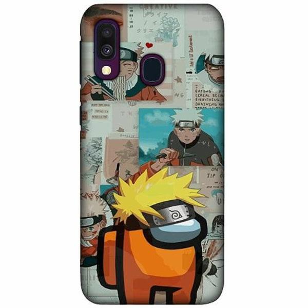 Samsung Galaxy A40 LUX Mobilskal (Matt) Naruto