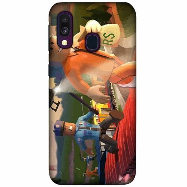 Samsung Galaxy A40 LUX Mobilskal (Matt) Roblox