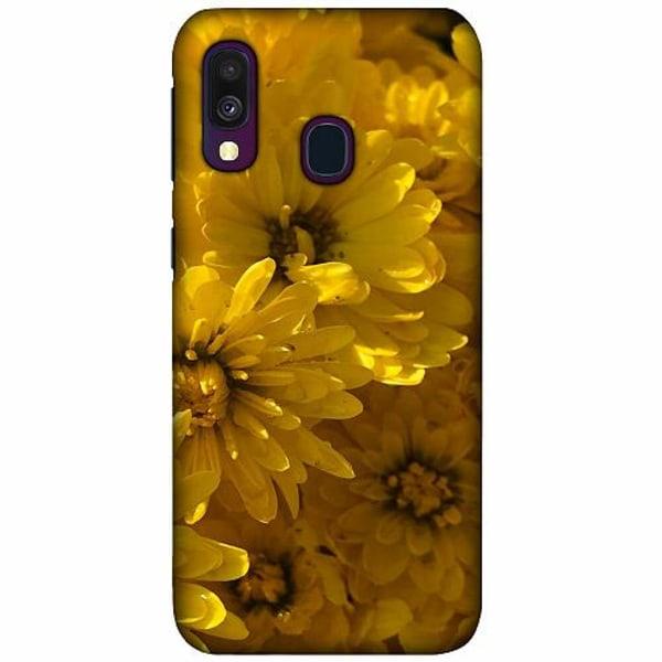 Samsung Galaxy A40 LUX Mobilskal (Matt) Yellowy. Kinda