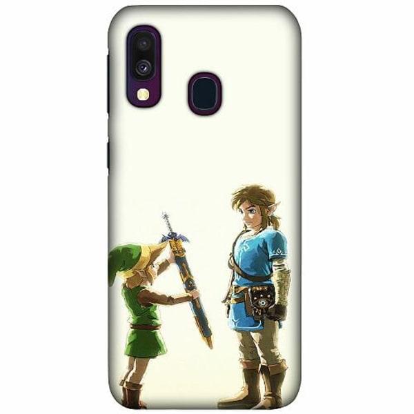 Samsung Galaxy A40 LUX Mobilskal (Matt) Zelda