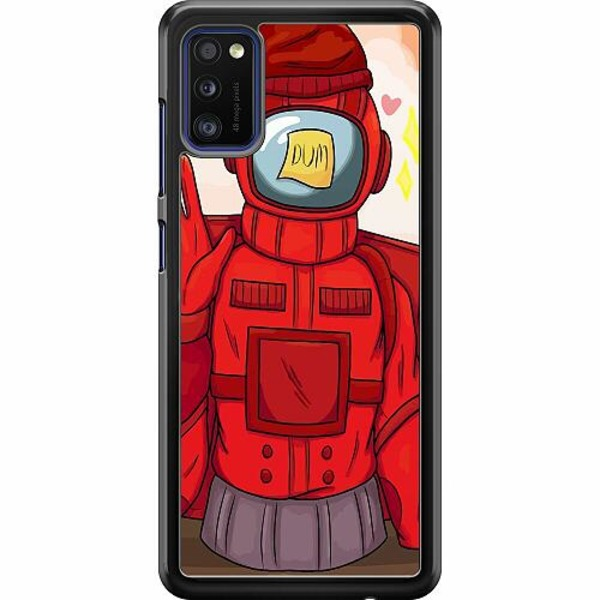 Samsung Galaxy A41 Hard Case (Svart) Among Us 2021