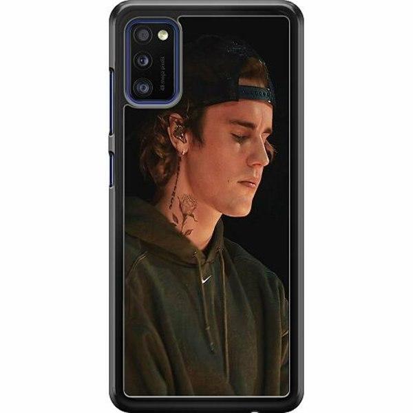 Samsung Galaxy A41 Hard Case (Svart) Justin Bieber 2021