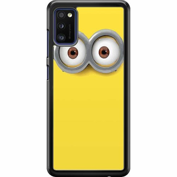 Samsung Galaxy A41 Hard Case (Svart) Minions