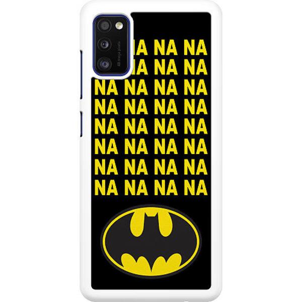 Samsung Galaxy A41 Hard Case (White) Batman