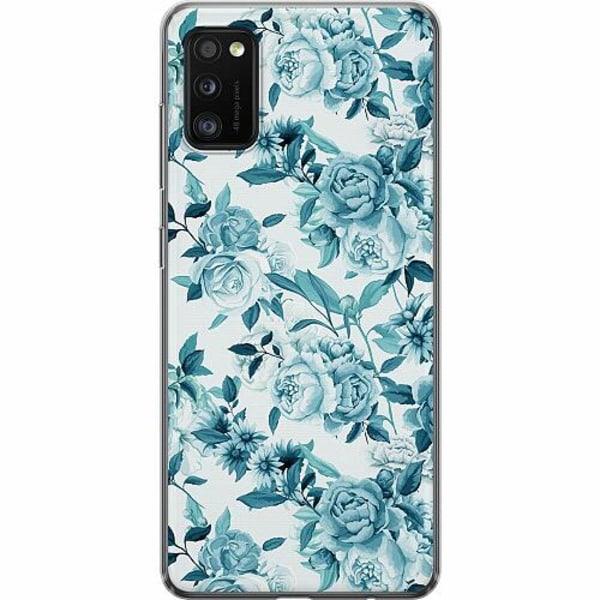Samsung Galaxy A41 TPU Mobilskal Blommor