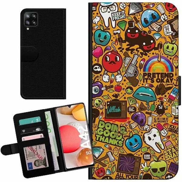 Samsung Galaxy A42 5G Billigt Fodral Stickers