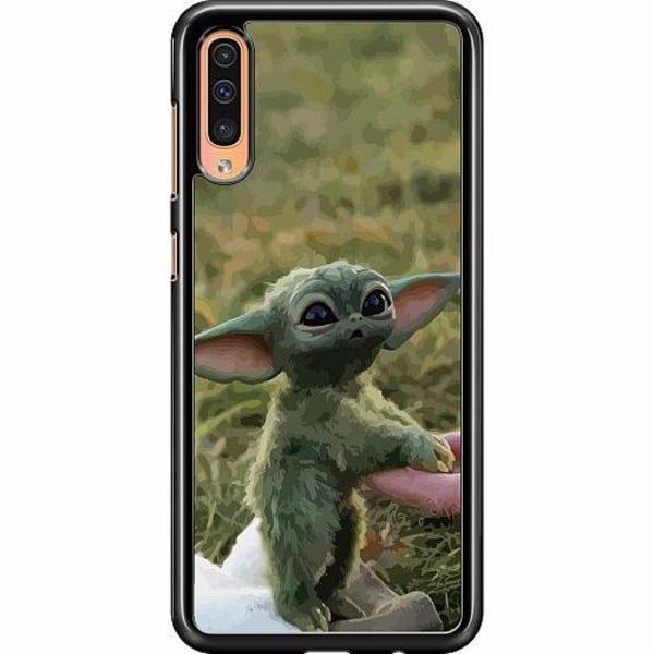 Samsung Galaxy A50 Hard Case (Black) Yoda